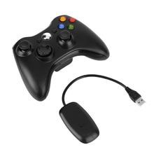 Xbox360 jaoks 2.4G juhtmeta kontroller 4 värvi gamepad Android nutikas telerikast joysticki mängimise arvutimängija mängukett Xbox 360 konsooli jaoks