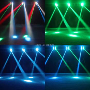 Freies Verschiffen HEIßER Verkauf NEUE Moving Head Licht Mini LED Spinne 8x6 Watt RGBW Strahl
