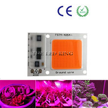1X 4X 10X 220V COB LED Chip Phyto Lamp Full Spectrum 20W 30W 50W 60W 120W LED Diode Grow Lights Fitolampy for Indoor Seedlings(China)