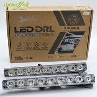 2016 New Hot Sales Super Bright White LED Daytime Running Light Metal Housing Fog Lamp LED