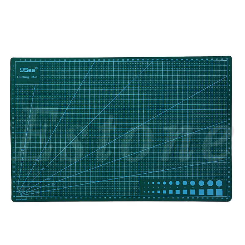 1PC Multipurpose Self Healing Builders Double-Sided PVC A3 Cutting Mat 45x30CM top quality pvc rectangle self healing cutting mat tool non slip craft quilting printed professional double sided cutting mat