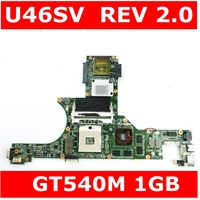 U46SV MAIN_BD._0M/AS V1G GT540M N12P GS A1 Mainboard REV 2.0 For U46SV U46S U46S Laptop Motherboard 100% Tested working well