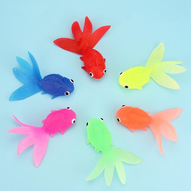 Poisson rouge jouets achetez des lots petit prix poisson for Jouet aquarium poisson