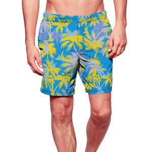Fashion Men Casual Printed Shorts Swim Trunks Quick Dry Beach Surfing Running Swimming Watershort boardshort hurley phantom 10(China)
