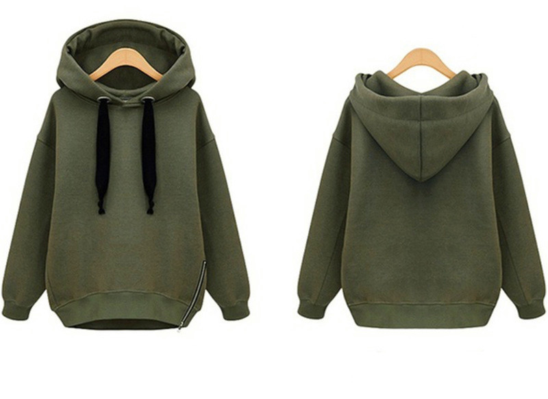 Kpop home Womens Zipper Hoodie Autumn and Winter Loose Fashion hood Pullover Clothes harajuku style Casual Outwears with hat