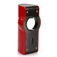 NEW Lubinski Red Laser Touch Induction 4 Torch Jet Flame Lighter