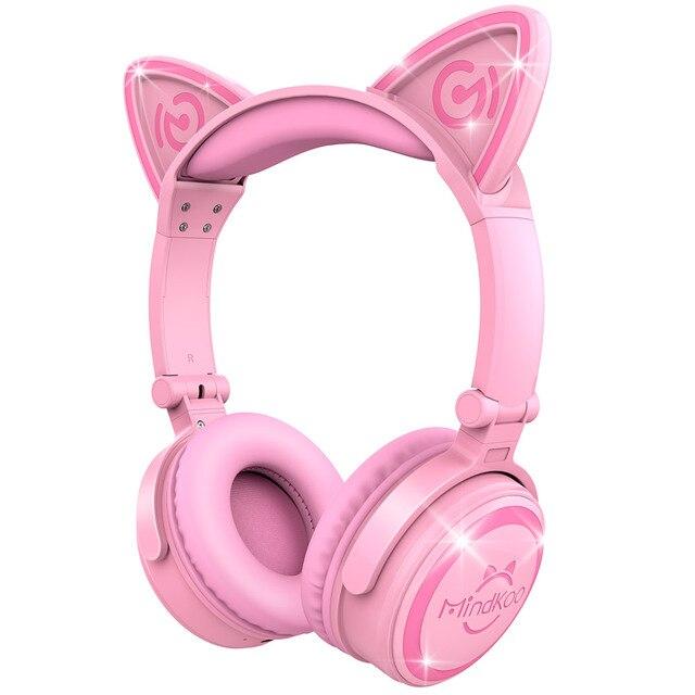 Elbplanke Ä Tännsch N Please: Mindkoo Gato Orelha Fone De Ouvido Sem Fio Bluetooth