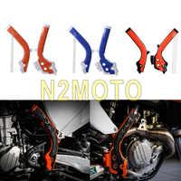4 couleurs Motocross x-grips cadre garde-cadre pour KTM SXF 250 350 450 SX 125 250 EXC-F 250 350 450 EXC 125 250 300 TPI