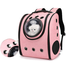 Cats Puppy Bag Transparent Pet Outdoor Portable Shoulder Breathable Space Backpack