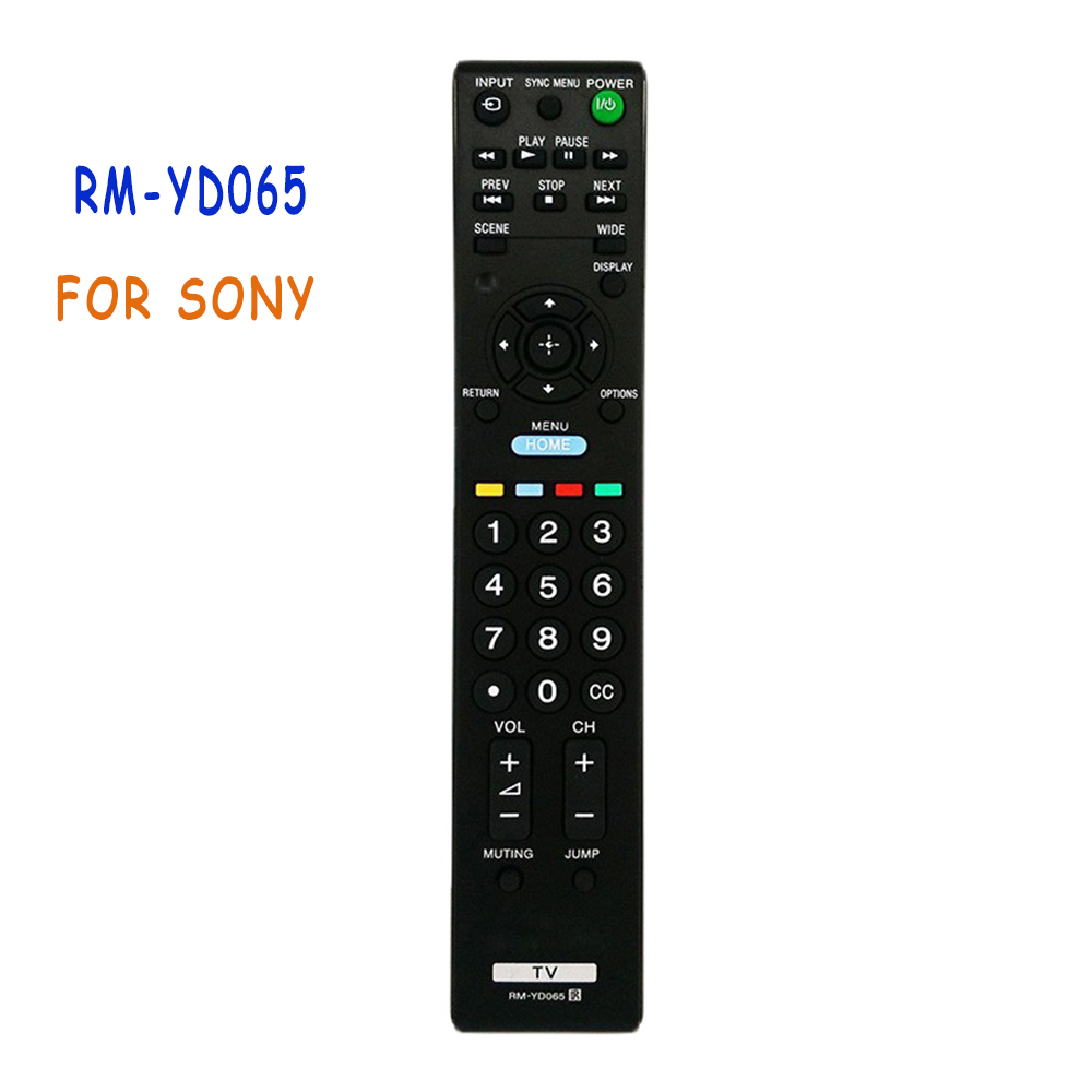 5d42ee04f9fd 4 unids lote reemplazo de Control remoto para SONY BRAVIA LCD TV RM-YD065  KDL22BX320 KDL32BX320 KDL32BX420 mando a distancia