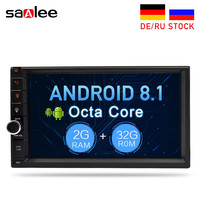 7 Touch Screen Universal Android 8.1 Car Multimedia Player Audio Stereo Radio GPS Navigation Video Bluetooth DAB FM WiFi