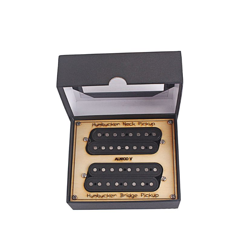 8 strings oblique neck and Bridge Guitar Pickup slope Humbucker Pickup