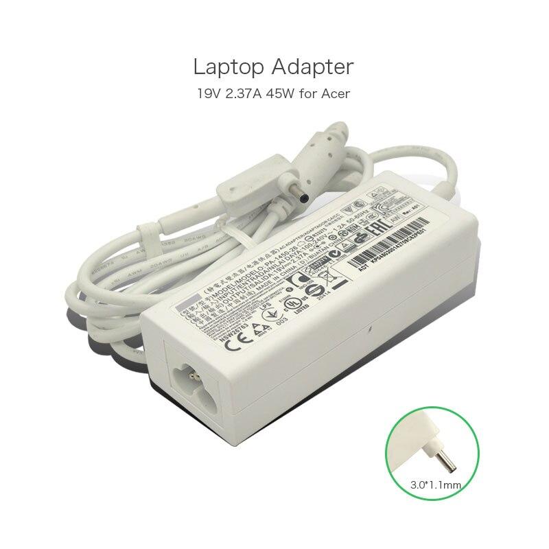 19 V 2.37A 45 W 3.0*1.1mm PA-1450-26 ordinateur portable adaptateur secteur chargeur pour Acer Chromebook 11 CB3-111 13 CB5-311 alimentation