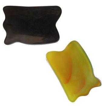 1pc ciało Gua Sha pielęgnacja twarzy leczenie Guasha skrobanie masaż medyczny Pad szyi 2 kolory gorąca sprzedaż tanie i dobre opinie KuZHEN CN (pochodzenie) Średni Massage Gua Sha BODY Other