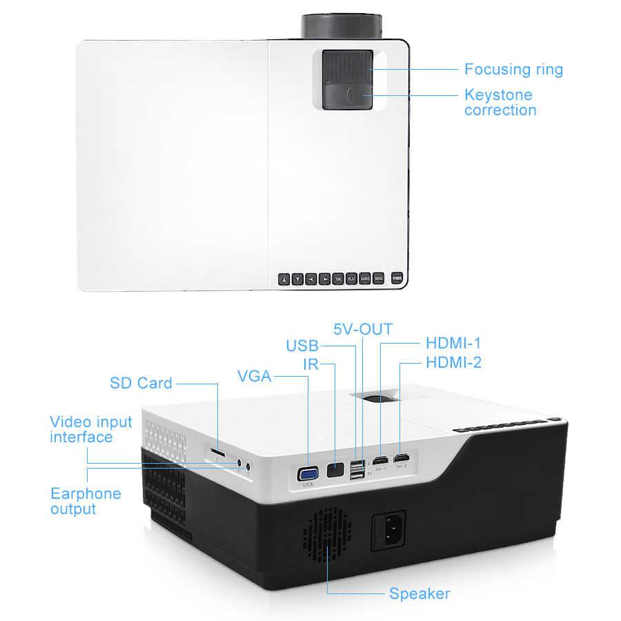 Projecteur TouYinger M18 full HD, natif 1080p 5500Lumen, option Android, cinéma maison vidéoprojecteur LED vidéoprojecteur Full HD
