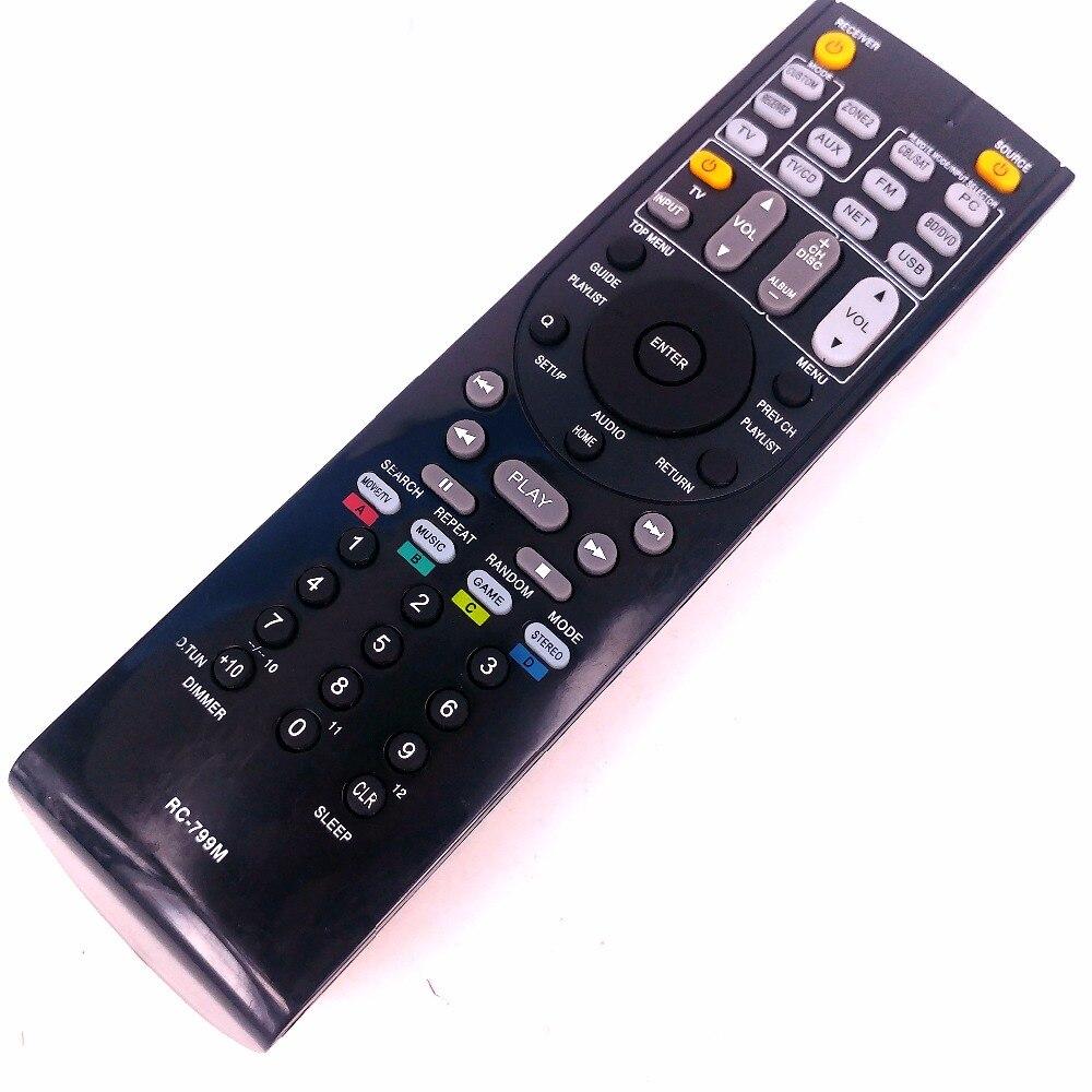 Nuevo control remoto para ONKYO AV RC-799M RC-737M RC-834M/RC-735M RC-765M TX-NR414 TX-NR515 TX-NR717 TX-SR507S TX-SR507