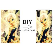 100 pcs Wholesale DIY black TPU case for iPhone X case with custom made flexible case black TPU cover case for iPhone 8 8 plus(China)