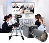 HQCAM 4.0MP 6 60mm Varifocal Lens camera With Digital for Back light Capture mini USB BOX camera Teaching camera  video conferen|Surveillance Cameras| |  -