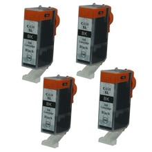 4PK Black Ink Cartridges PGI520 520 Compatible For Canon Printer PIXMA  IP3600 IP4600 IP4700 MX860 MX870