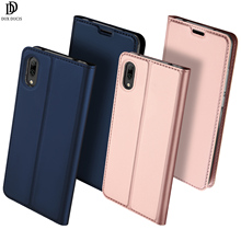 Flip Case For Huawei Y7 Pro 2019 & Enjoy 9 PU Leather TPU Soft Bumper Card Slot Holder Wallet Stand Cover Mobile Phone Bag flip case for huawei honor 20 pro pu leather tpu soft bumper protective card slot holder wallet stand cover mobile phone bag