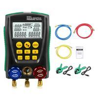DY517 Pressure Gauge Refrigeration Digital Vacuum Pressure Manifold Tester Meter Temperature Tester 0 Kpa~6000 Kpa