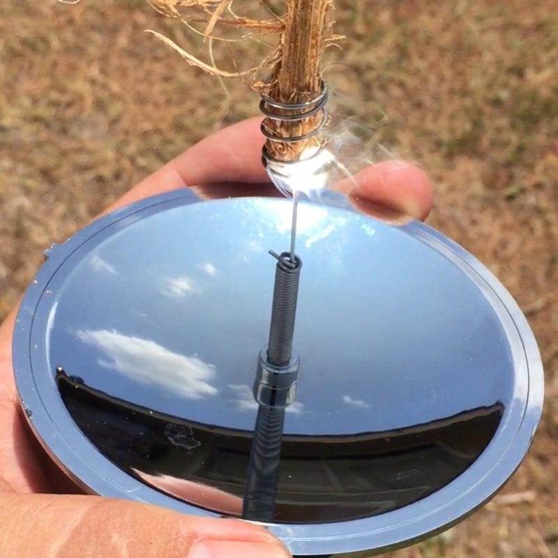 Outdoor Solar Lighter Camping Survival Fire Waterproof & Windproof Fire Starter Outdoor Emergency Tool Gear Accessories Outdoor(China)
