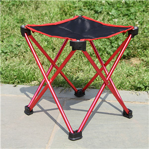 Strong Aluminum Alloy Mini Portable Folding Chairs Ultralight Outdoor Camping Stool for Backpacking,Hiking,BBQ,Picnic,Travel