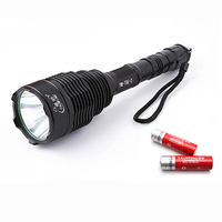 High Power 2000LM CREE XML T6 LED Flashlight Waterproof Police Led Torch Light 1000 Meters Lamp