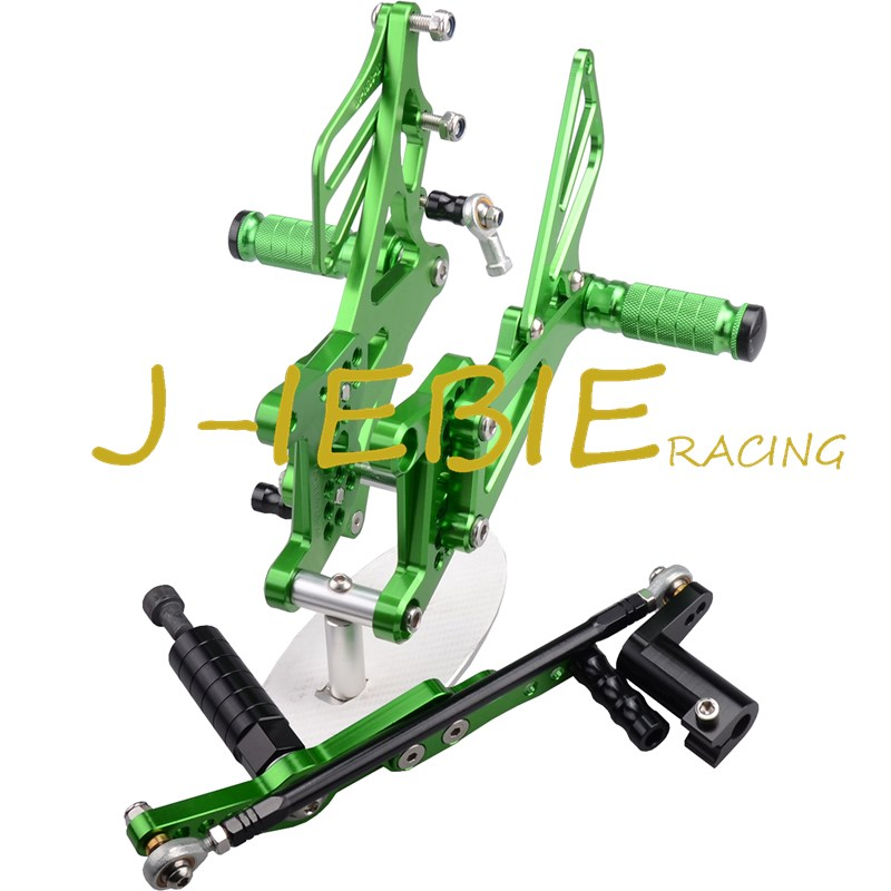 CNC Racing Rearset Adjustable Rear Sets Foot pegs Fit For Yamaha YZF R1 2007 2008 GREEN morais r the hundred foot journey