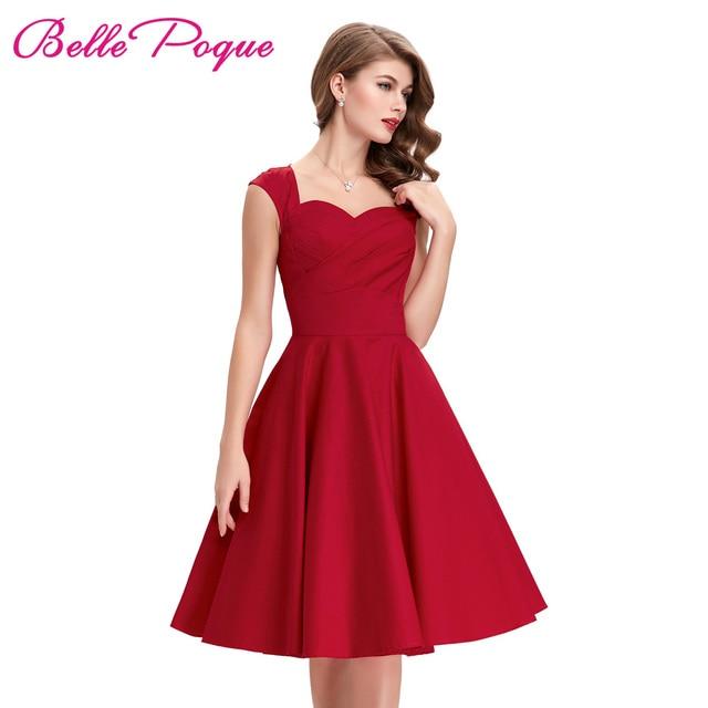 Kleid rot grosse 50
