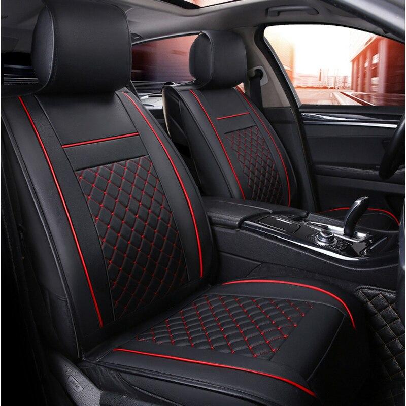 купить car seat cover auto seats protector accessories for Toyota land cruiser 100 120 200 lc200 prado 120 150 mark 2 по цене 4395.05 рублей