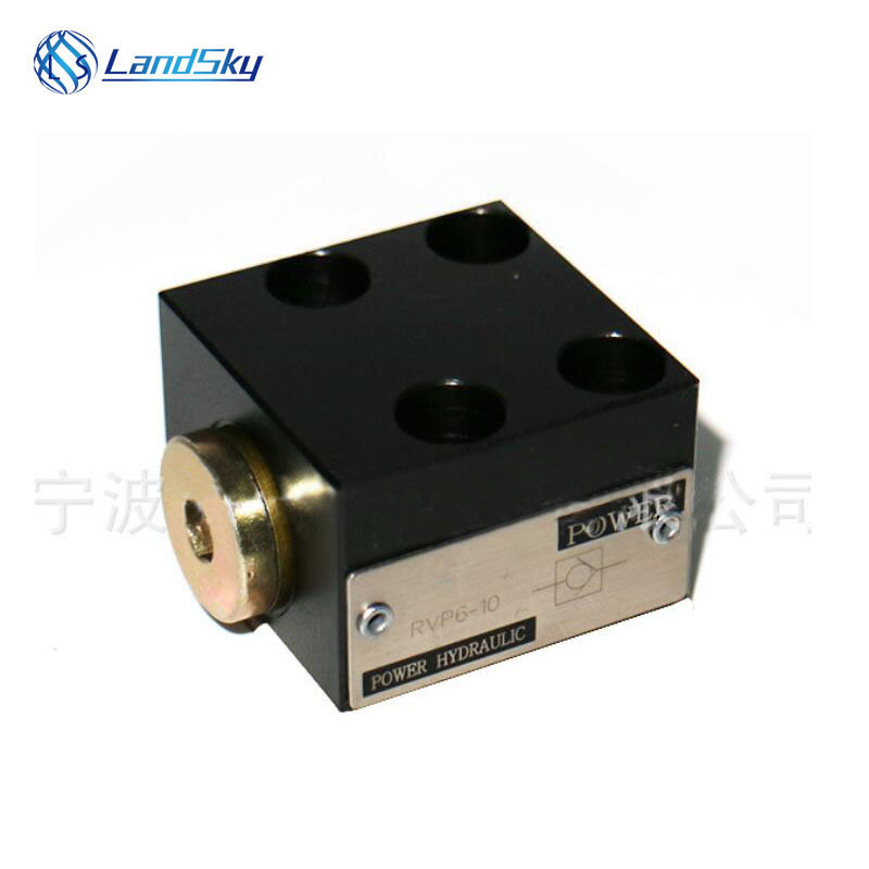 hydraulic system flapper check valve RVP6-10 industrial valves directional control operation