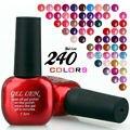 Gel Len Soak off gel polish cured led uv lamp special offer 240 colors For choosse fashion new uv gel polish