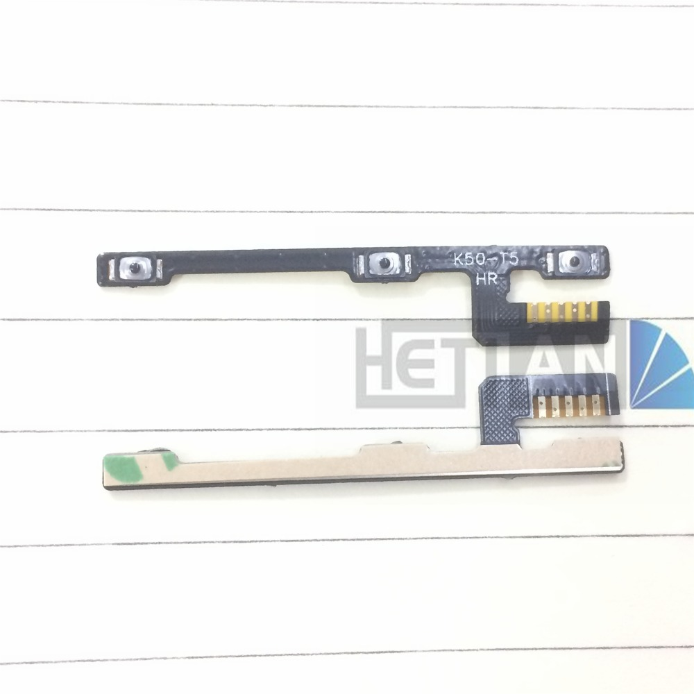 10PCS for <font><b>Lenovo</b></font> <font><b>A7000</b></font> K3 Note A7600 Side Power <font><b>Volume</b></font> Key ON/OFF <font><b>Button</b></font> Switch Flex Cable Ribbon Replacement Repair Spare Parts image