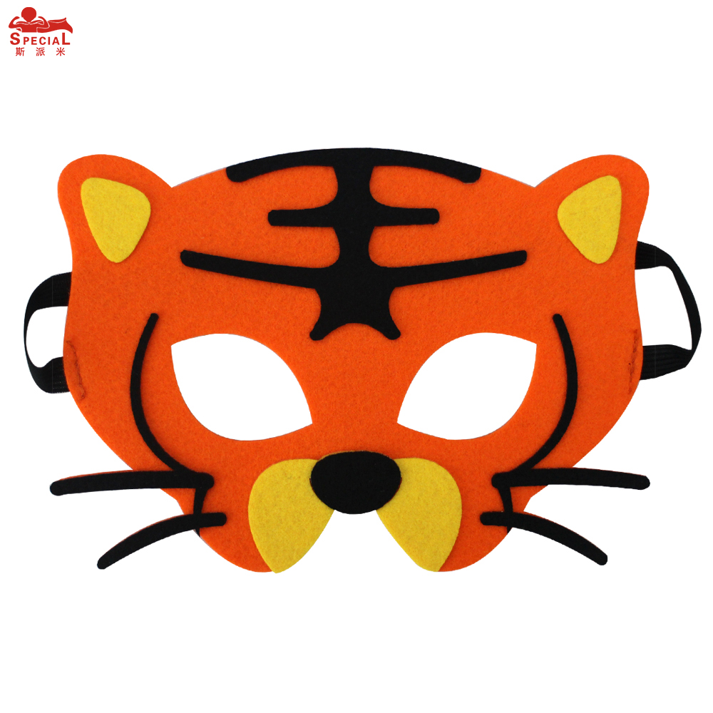 SPECIAL Thick Felt Animal Mask For Kids Monkey Costume Character - Kostumer - Foto 4