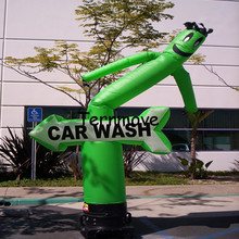 inflatable carwash sky dancer fly guy with arrow waving dancer for party events,single tube man Air Inflatable Tube Puppet Set