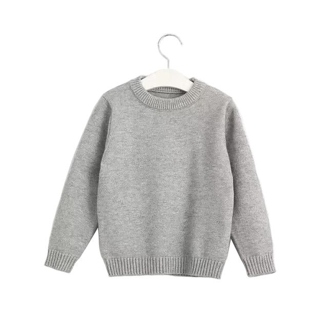South Korea's single children's clothing 2016 new rabbit hair blended children net color sweater baby owner retention money