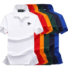 High Quality Tops&Tees Mens Polo shirts Business men brands Shirts 3D embroidery mens polo shirt Plus size S-2XL 886