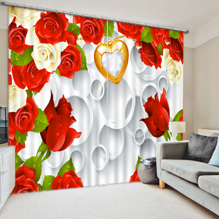 Modern Home Decoration Curtains Modern 3d Window Curtains For Living Room Bedroom Custom 3d Photo Underwater