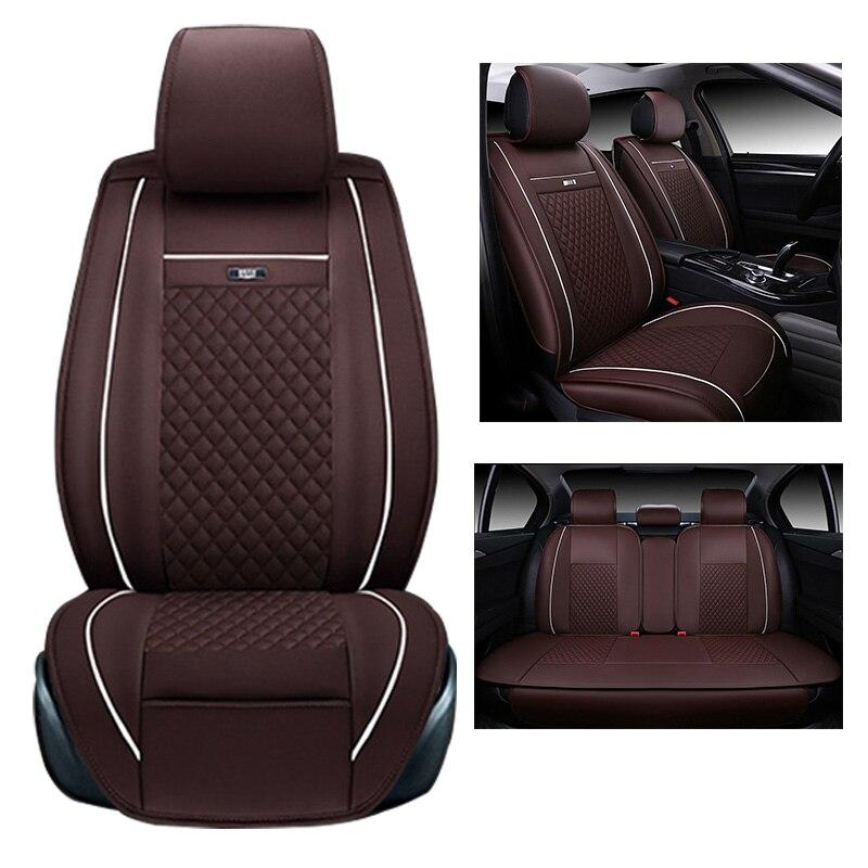 Seggiolino Auto Copre Completo Set Si Adatta Toyota Prius in Similpelle Nero