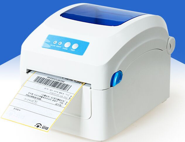wholesale high quality stickers Barcode Qr code label printers Logistics surface single label printer Print speed is very fast цена
