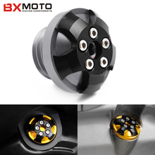 Engine Oil filler Cap plug fits M20*2.5 Black For Ducati 899 PANIGALE 1199/ PANIGALE S 848 Motorcycle Accessories Bolt Screw