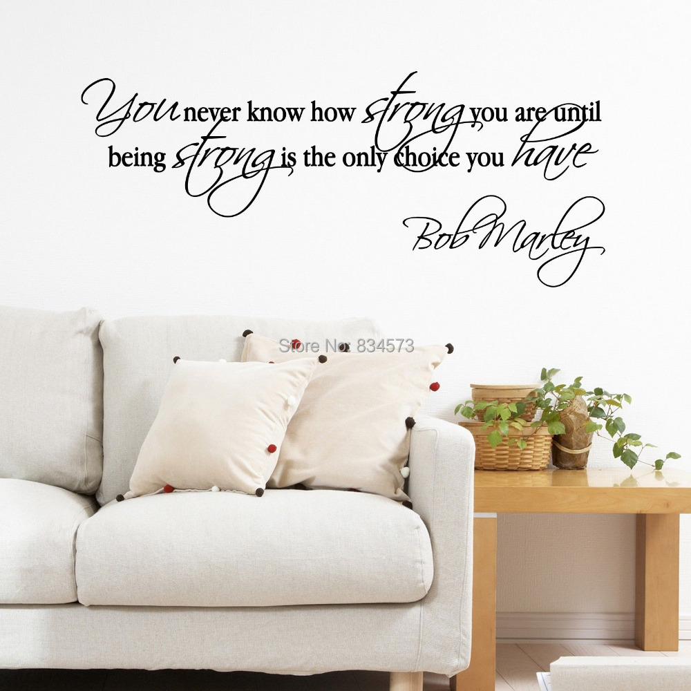 Positive Quotes Wall Art : Motivational wall decor decals