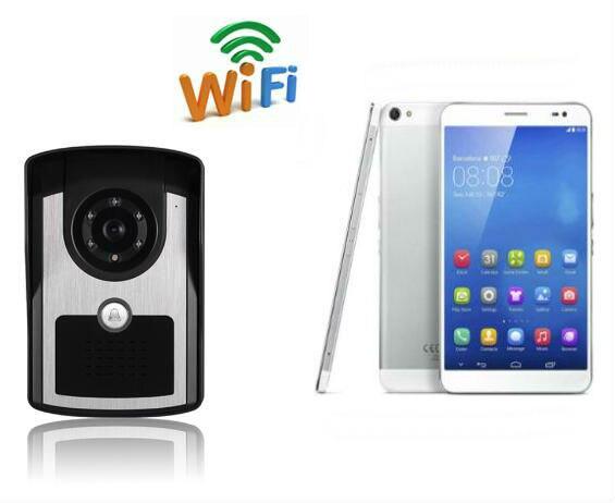 ФОТО Wireless Wifi Video Door Phone Doorbell Night Vision Intercom System HD 720P Support APP