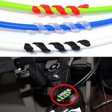 5 шт. высокое качество 4,2 г Велосипедный тормозной кабель корпус TPR протектор антифрикционный велосипед велосипедная линия обертывание