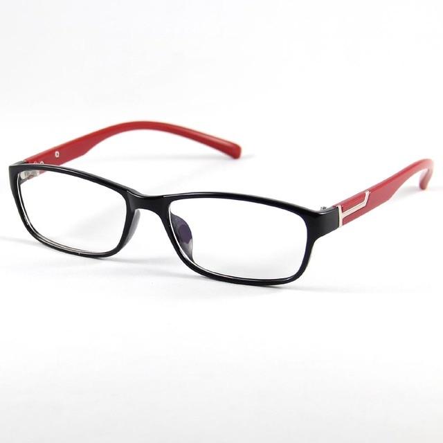 eaf13c6bb61 RUI HAO EYEWEAR Unisex Eyeglasses Frames Clear Lens Fashion Glasses Frame  Spectacles Brand Designer Plastic Eyewear
