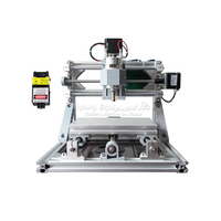 New Mini CNC 1610 500mw Laser Head CNC Engraving Machine Pcb Milling Router Diy Mini Cnc