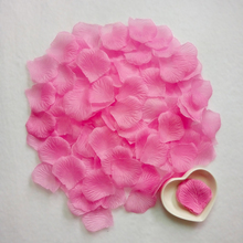 100Pcs/Lot Rose Flower Petals Leaves Wedding Decorations Party Festival Confetti Decor Event & Party Supplies
