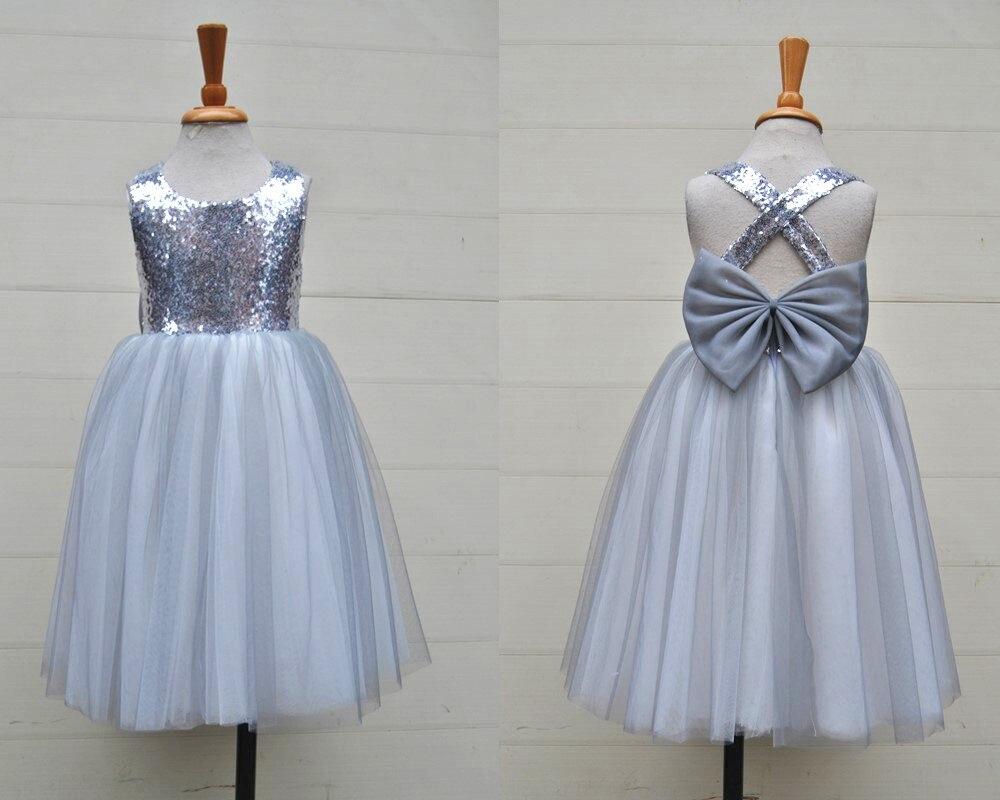 Online Get Cheap Grey Flower Girl Dress -Aliexpress.com - Alibaba ...