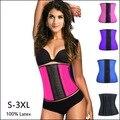 10 pcs Lady Látex Trainer Cintura corset corpo shaper Espartilho 100% Látex Espartilho Sexy Mulheres Látex Cintura Cincher Shapewear